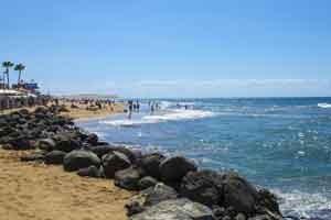 Ontspannen Strand